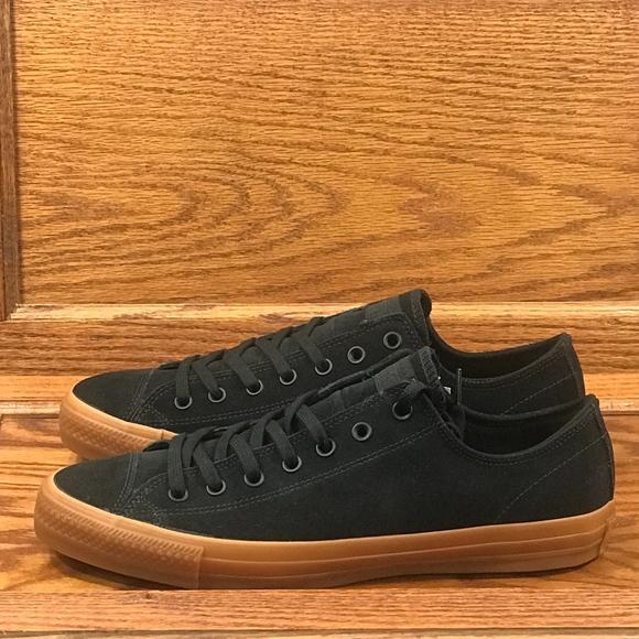 f6ed5b0c7642c2 Converse Ctas Pro Ox Black Black Shoes